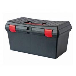 coffret de rangement plastique capacit 30 litres coffres de rangement sacs dos. Black Bedroom Furniture Sets. Home Design Ideas