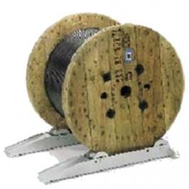 D rouleur de tourets de c ble d2a capacit 1 t maxi - Derouleur de cable ...