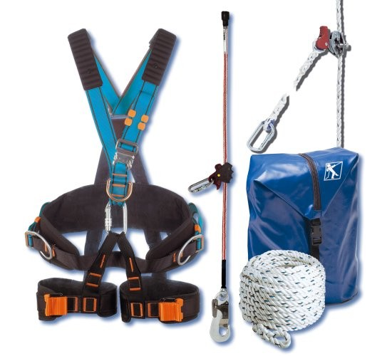 kit elagueur 39 co 39 kee avec harnais lagueur travaux d 39 lagage kits harnais protection. Black Bedroom Furniture Sets. Home Design Ideas