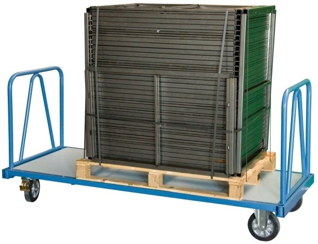 chariot industriel pour charges lourdes avec 2 dossiers capacit 1200 kg chariots pour. Black Bedroom Furniture Sets. Home Design Ideas