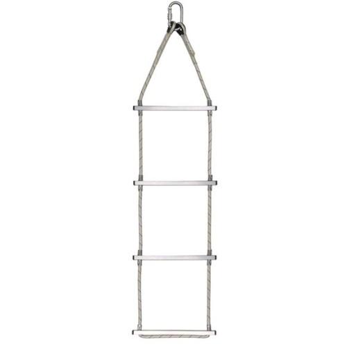 echelle en corde polyamide 10 5 mm barreaux aluminium longueurs 5 m 25 m echelles en. Black Bedroom Furniture Sets. Home Design Ideas