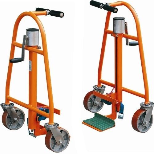 chariots porte meuble avec l vation par cric capacit 600 kg chariots porte meubles. Black Bedroom Furniture Sets. Home Design Ideas