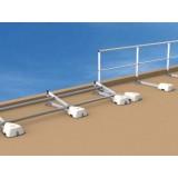 garde corps en aluminium fixation sabot z garde corps terrasses inaccessibles garde corps. Black Bedroom Furniture Sets. Home Design Ideas