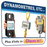 Dynamomètres, Mesure d'efforts