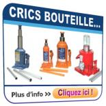 Crics hydrauliques 'bouteille'