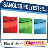 Sangles polyester
