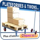 Plateformes roulantes & timons