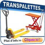 Transpalette, Table élevatrice