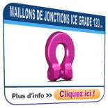 Maillon de jonction RUD ICE GRADE 120