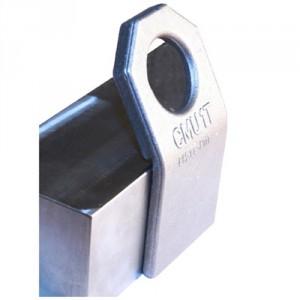 Platine de levage oblique à souder PSO - Capacité 0,5 t à 4 t