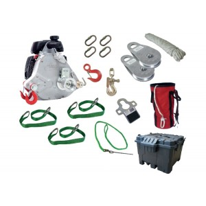 POW-PCW5931-Kit de tirage CHASSE avec treuil PCW500