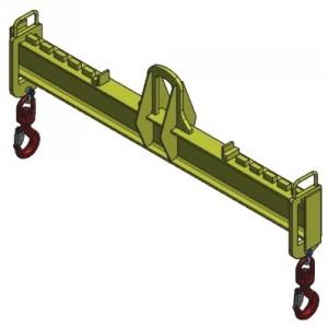 Palonnier monopoutre REGLABLE CMR - Capacité 1 t à 3 t