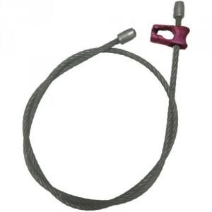 Elingue câble DW avec crochet choker et 2 embouts acier sertis - Ø 13 mm et Ø 14 mm