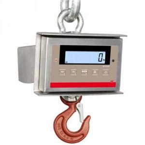 Dynamomètre électronique WCM à crochet avec boitier acier INOX IP 65 - Capacité 0,15 t à 25 t