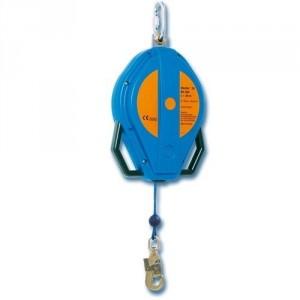 Antichute à rappel automatique BLOCFOR avec câble SYNTHETIQUE, carter ABS ou aluminium - Longueur 10 m