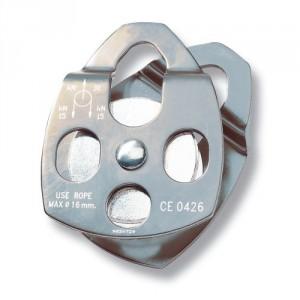 Poulie simple flasques ouvrants PSM - Pour drisse Ø 16 mm maxi
