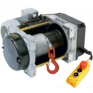 Treuil électrique à câble compact TRB 220 V Monophasé et 380 V Triphasé - Capacité 250 kg à 350 kg