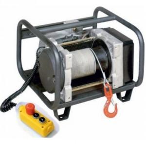 Treuil électrique à câble compact TRC 220 V Monophasé et 380 V Triphasé - Capacité 250 kg à 350 kg