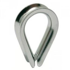 Cosse coeur INOX POI - Pour câble Ø 2 mm à 24 mm