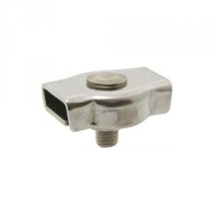 Serre-câble plat INOX SCPI1 à 1 boulon - Pour câble Ø 2 mm à 10 mm