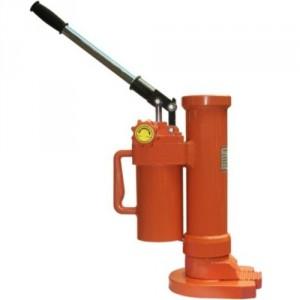 Cric hydraulique monobloc à patte HM - Capacité 5 t, 10 t et 25 t