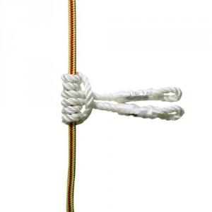 Noeud prussik NEL84 - Cordage polyester toronné Ø 12 mm