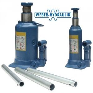 Crics hydrauliques bouteille A & AT - Capacité 2 t à 100 t