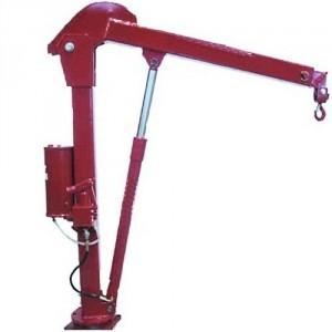 Potence de véhicule PVH10 avec pompe hydraulique A LEVIER - Capacité maxi 1t (portée 1,2 m) et 0t62 (portée 1,80 m)