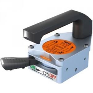 Aimant compact 126x80 à poignée H50/V35 kg/plat ép. 3, ép. Mini 1