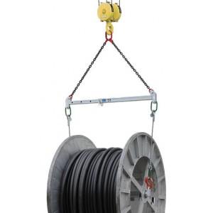 Palonnier écarteur pour levage de tourets de câble - Capacité de 3 t à 20 t