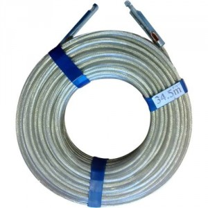 Câble TIR Ø 6 mm avec embout serti aux 2 extrémités - Longueur 33,50 m et 40,00 m