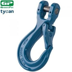 Crochet simple à chape GRADE 100 Green Pin Tycan®
