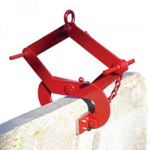 Pince CROSBY CCGG pour blocs de pierre de formes irrégulières largeur 102 à 178 mm - Capacité 635 kg