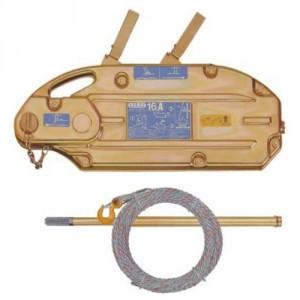 Treuil à câble passant ALBA à carter acier - Capacité 0t8, 1t6 & 3t2