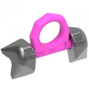 Anneau de levage articulé à paliers à souder RUD VRBK-FIX pour arête de 90° - Capacité 4 t à 10 t