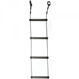 Echelle SPELEO en câble acier GALVA (barreaux acier) ou en câble INOX (barreaux ALU) - Longueurs 3 m, 10 m et 15 m