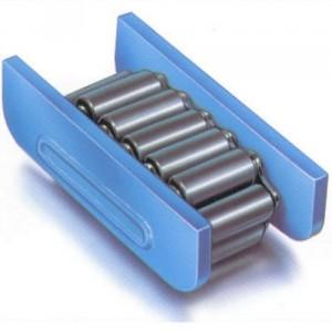 """Patin rouleur """" les solides"""" avec chenilles acier. Modèle C, C-H, C-H-50CrV4 - Capacité 10 t à 80 t"""