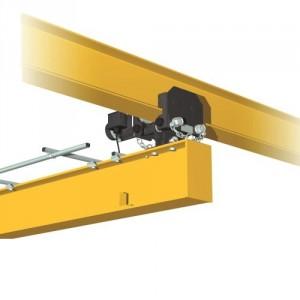KIT de chariots PRV pour réalisation de poutres roulantes articulées ELECTRIQUES - Capacité de 0,25 t à 2 t