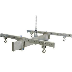 Palonnier aluminium en H réglable PALHR - Capacité 1 t à 3 t