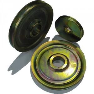 Réa pour câble à moyeu COURT CBB/CBU - Ø 100 mm à 200 mm