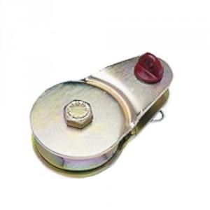 Poulie de traction et de levage PON 'OFF-SHORE' avec AXE - Capacité 1 t à 32 t
