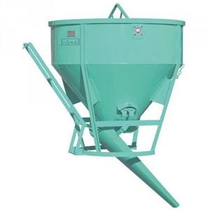 Benne conique BCCL 150 litres à 1000 litres - Capacité 390 kg à 2600 kg