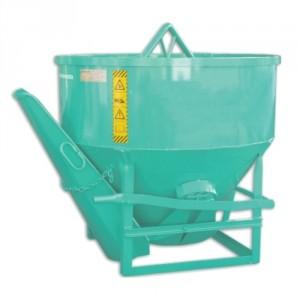 Benne conique BCCLN 500 litres à 2500 litres - Capacité 1300 kg à 6500 kg