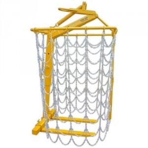 e-palette avec rideau de chaîne amovible - Capacité 1,5 t et 2 t