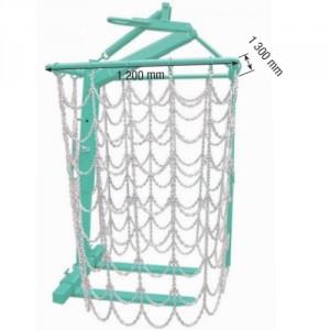 Lève-palettes à fourches avec protection de sécurité - Capacité 1,5 t et 2 t