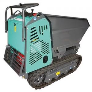 Mini transporteur kit ciseaux essence / diesel avec benne et pelle chargeuse MHTEDV - Capacité 700 kg