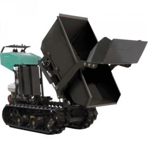 Mini transporteur électrique avec benne et pelle chargeuse MTEBP - Capacité 400 kg.