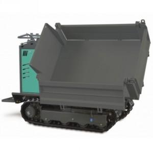 Mini transporteur hydrostatique diesel tribenne MTHCTR - Capacité 1000 kg