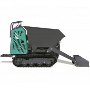 Mini transporteur essence / diesel avec benne et pelle chargeuse MTHVE - Capacité 700 kg