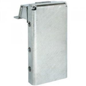 Butoir de quai 758 faible épaisseur avec rehausse de 108 mm et rallonge de 210 mm - Dimension 470x232x86 mm